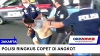 Ringkus Copet, Polisi Hadang Angkot di Pademangan