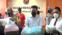 8 Kg Sabu Diamankan Satnarkoba Polresta Barelang, Batam