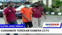 Pelaku Curanmor Tertangkap Berkat Rekaman CCTV