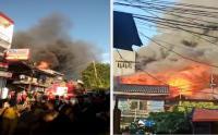 Kebakaran Permukiman Padat Penduduk di Tambora