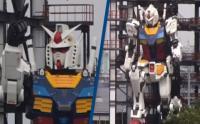 Jepang Luncurkan Robot Gundam Setinggi 18 Meter