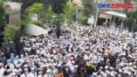 Ribuan Jamaah Padati Lokasi Pemakaman Habib Ali