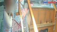 CCTV Rekam Wanita Bawa Kabur Logam Mulia 300 Gram di Depok