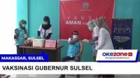 Setelah Tertunda Akhirnya Gubernur Sulawesi Selatan Divaksinasi