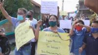 Protes Eksekusi Rumah dan Lahan di Medan Marelan