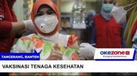 11.113 Tenaga Kesehatan di Kota Tangerang Divaksin Covid-19