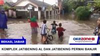 Ratusan Rumah di Komplek Jati Bening AL dan Jatibening Permai Bekasi Kebanjiran