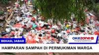 Lautan Sampah Seluas Lapangan Bola Muncul di Bekasi