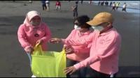 Ratusan Guru Bersih-Bersih Sampah dan Tanam Pohon