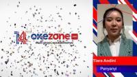 HUT KE-14 OKEZONE, Tiara Andini: Semoga Okezone Semakin Sukses