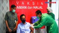 Sultan HB X Jalani Suntik Vaksin Lansia Dosis Kedua