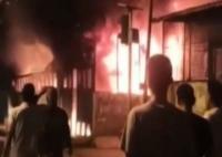 Ruko Terbakar di Medan, Satu Orang Tewas