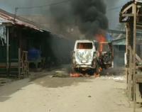 Ribut Berujung Maut, Bakar Mobil Pelaku di Sorong Papua