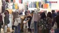 Pengunjung Pasar Pakaian dan Mal Ramai, Abaikan Protokol Kesehatan