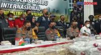Polisi Bongkar Kasus Peredaran 310 Kg Sabu Jaringan Internasional