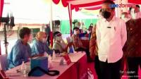 Presiden Joko Widodo Meninjau Pelaksanaan Vaksinasi Covid-19
