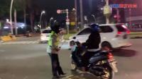 Penyekatan Jalan Ibu Kota, Petugas Bersiaga di Cikini