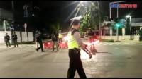 10 Titik Jalan Ibu Kota Disekat, Begini Suasana di Jalan Sabang Jakarta Pusat