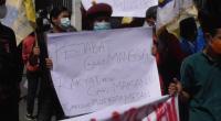 Mahasiswa Medan Tolak Perpanjangan PPKM