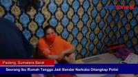 Seorang Ibu Rumah Tangga Jadi Bandar Narkoba Ditangkap Polisi