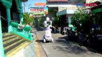 Warga Surabaya Rakit Robot Penyemprot Disinfektan dari Barang Bekas