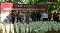 138 Tabung Oksigen Sitaan Diserahkan kepada Pemprov DKI Jakarta