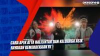 Cara Apik Atta Halilintar dan Keluarga Asix Rayakan Kemerdekaan RI