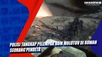 Polisi Tangkap Pelempar Bom Molotov di Rumah Seorang Pendeta