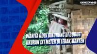Wanita ODGJ Dikurung di Gubug Ukuran 1x1 Meter di Lebak, Banten