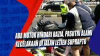 Ada Motor Hindari Razia, Pasutri Alami Kecelakaan di Jalan Letjen Suprapto
