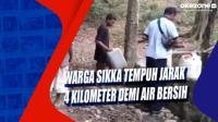 Warga Sikka Tempuh Jarak 4 Kilometer demi Air Bersih