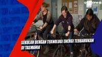 Sekolah dengan Teknologi Energi Terbarukan di Tasmania