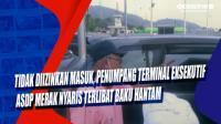 Tidak Diizinkan Masuk, Penumpang Terminal Eksekutif ASDP Merak Nyaris Terlibat Baku Hantam