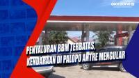 Penyaluran BBM Terbatas, Kendaraan di Palopo Antre Mengular