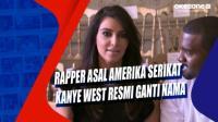 Rapper Asal Amerika Serikat Kanye West Resmi Ganti Nama