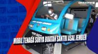 Mobil Tenaga Surya Buatan Santri Asal Jember