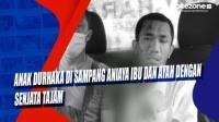 Anak Durhaka di Sampang Aniaya Ibu dan Ayah dengan Senjata Tajam