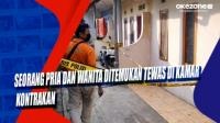 Seorang Pria dan Wanita Ditemukan Tewas di Kamar Kontrakan