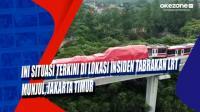 Ini Situasi Terkini di Lokasi Insiden Tabrakan LRT Munjul, Jakarta Timur