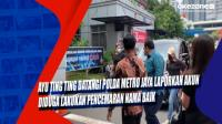 Ayu Ting Ting Datangi Polda Metro Jaya Laporkan Akun Diduga Lakukan Pencemaran Nama Baik