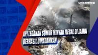 Api Ledakan Sumur Minyak Ilegal di Jambi Berhasil Dipadamkan