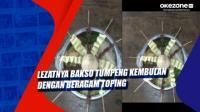 Lezatnya Bakso Tumpeng Kembulan dengan Beragam Toping di Magelang Jateng