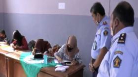 Pandemi Covid-19, Siswa Numpang Belajar Online di Kantor Imigrasi Cilacap