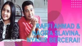 Raffi Ahmad Ungkap Pernah Nyaris Cerai dengan Nagita Slavina