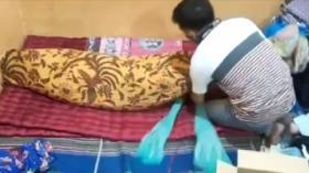 Gilang Bungkus Pelaku Fetish Kain Jarik Ditangkap di Kalimantan