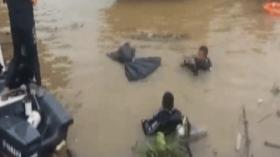 Mobil Terjun Ke Sungai Mahakam, 3 Orang Tenggelam