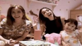 Gempi Jadi Makeup Artis Dadakan hingga Anak Kartika Putri Naik Sapi