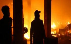 Ratusan Kios Pasar Wage Purwokerto Terbakar
