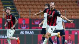 Ibrahimovic Borong Gol Kemenangan AC Milan atas Bologna
