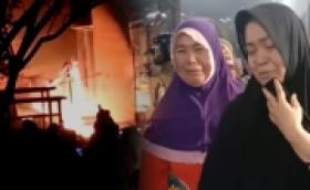 Ratusan Kios di Pasar Turatea Janeponto Terbakar, Pedagang Histeris